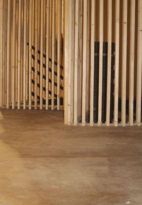 Boden-Holzlattung