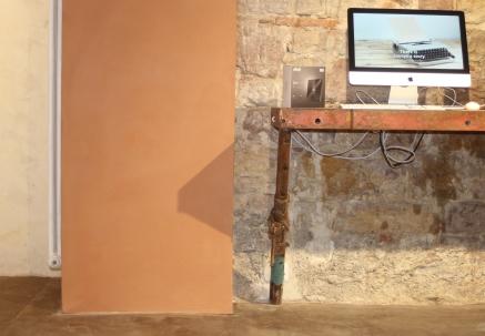 Pfeiler-Sandsteinwand-Möblierung