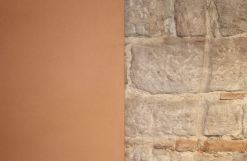 Pfeiler-Sandsteinwand